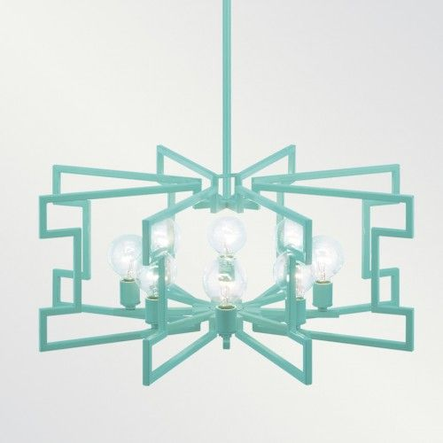 LOLITA POWDER COATED CHANDELIER | Shine by S.H.O