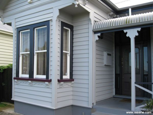 Resene Double Rakaia on house exterior