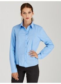 edit | Structured Work Shirt Pale Blue