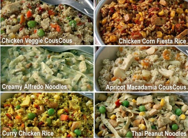 6 Instant Meals For Backpacking Just Add Boiling Water