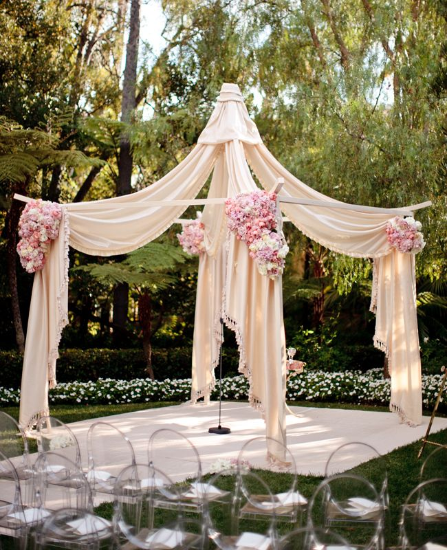 Outdoor Wedding Altar Pictures: 46 Best Outside Wedding Images On Pinterest
