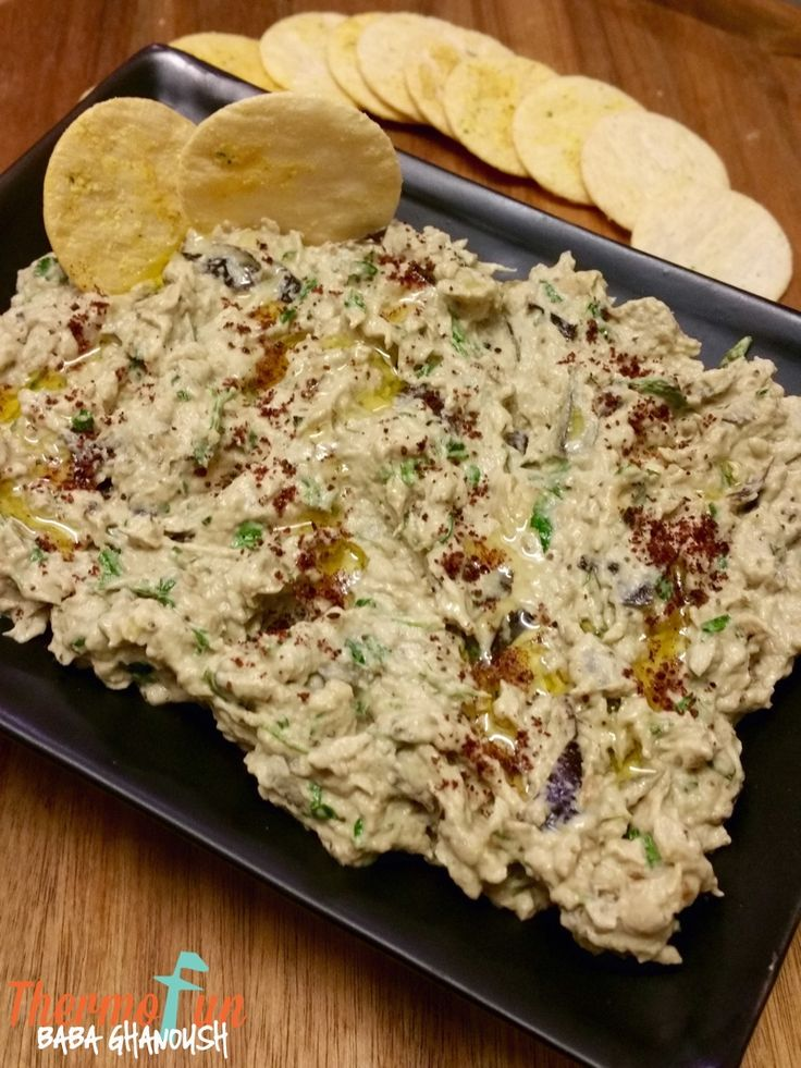 ThermoFun Club Member Recipe Wk 33, 2015 - Baba Ghanoush - Join Today! and have access to these past recipes.