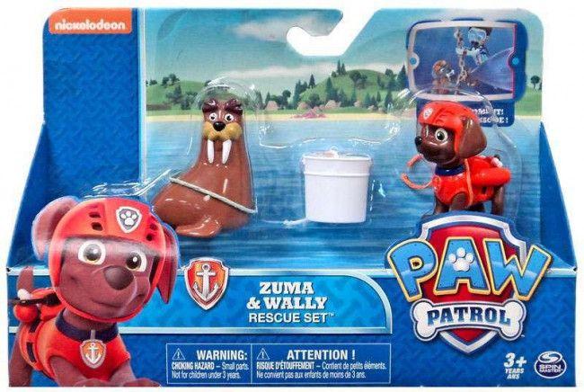 Pat Patrouille - Zuma & Wally - Castello | Jeux et Jouets