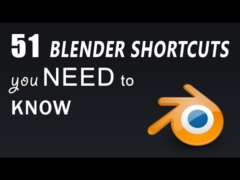 51 Blender Shortcuts you need to know - YouTube