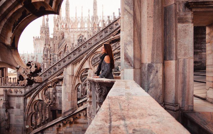 Milan Duomo terraces; 3 days in Milan; things to do in Milan; Milan travel guide