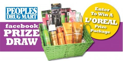 Win A L'Oreal Beauty Care Prize Package