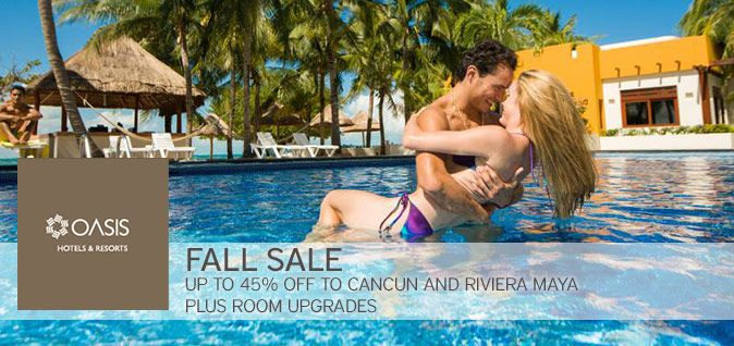 Oasis Hotels & Resorts: Funjet Vacations - All Inclusive Vacation Packages to Cancun  & More
