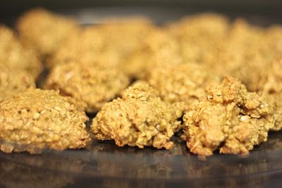 Pumpkin Spiced Oatmeal Pecan Cookies