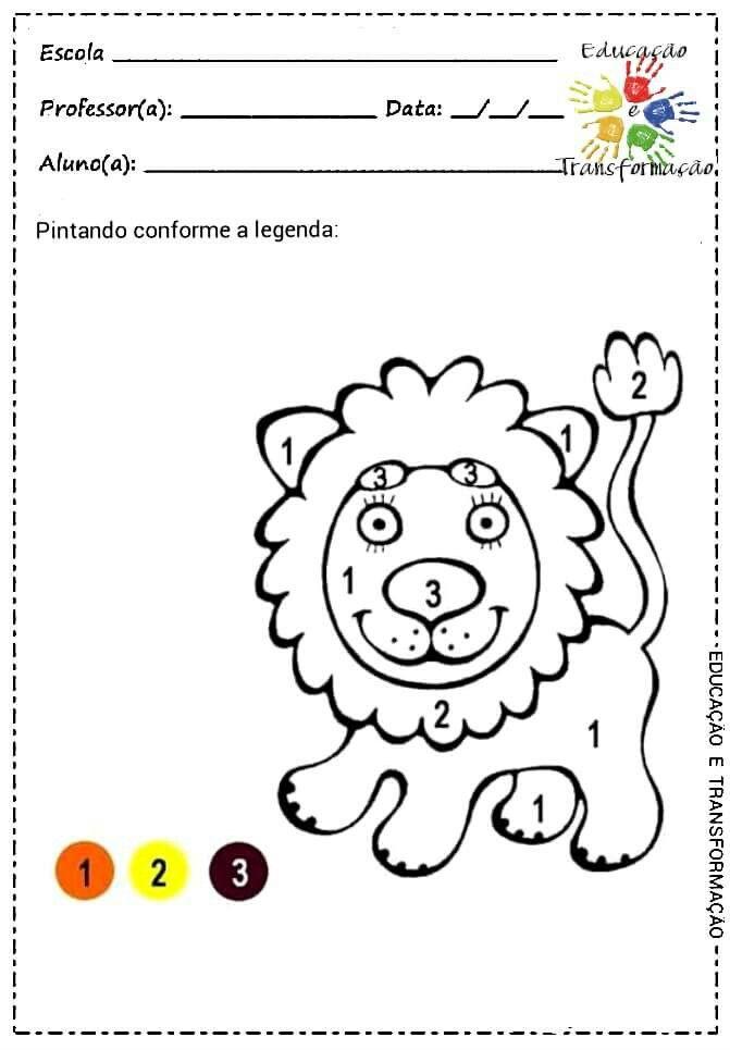 Magnífico Hojas De Color Numérico Molde - Dibujos Para Colorear En ...