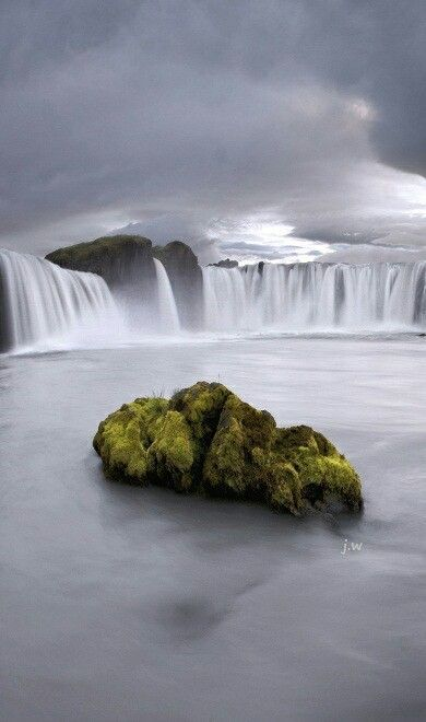The Dettifoss Waterfall in Iceland.
