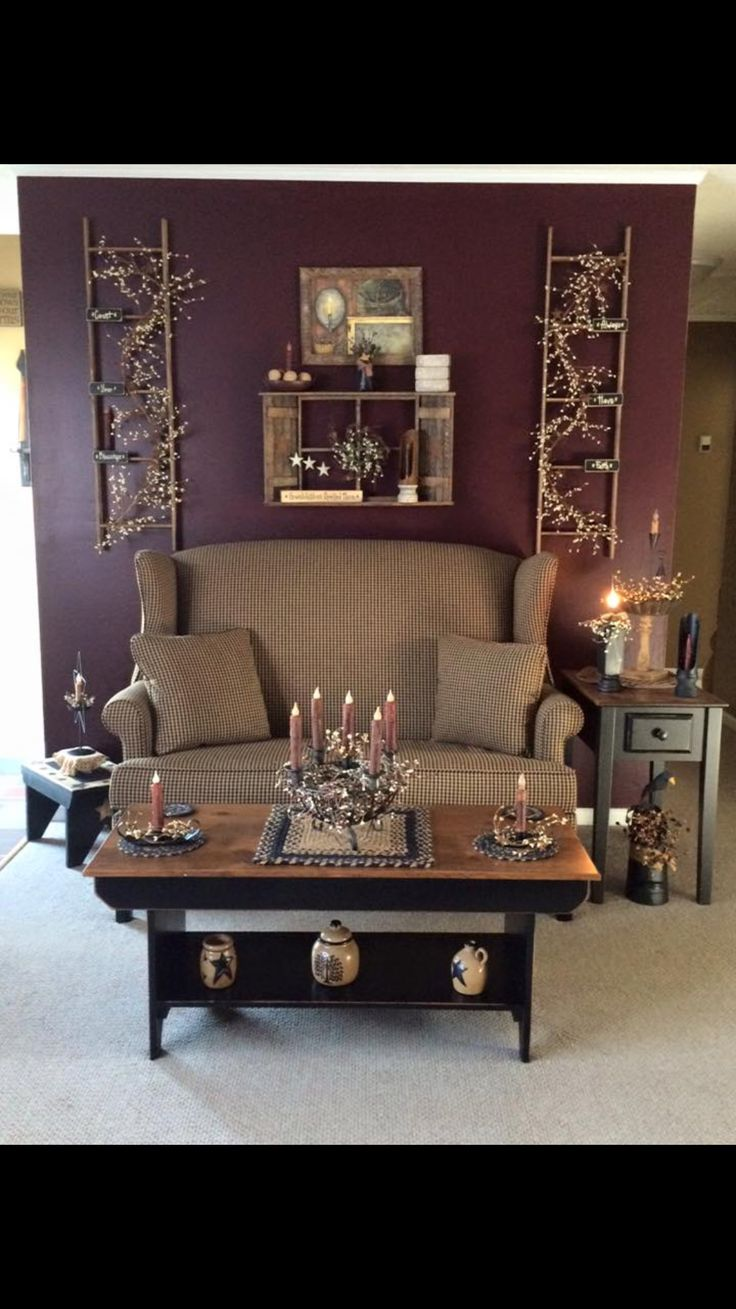 Primitive Country Living Room 17 Best Images About Primitive Country Decor On Pinterest