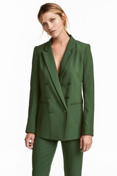 3844d0887609 Blazer a doppio petto | Business Style | Giacca, Blazer e Polsini