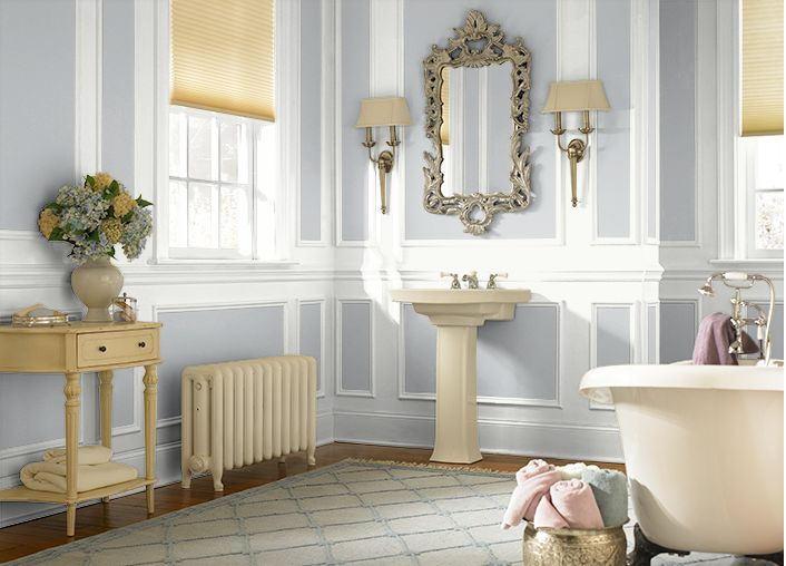 Bathroom Colors Silver Shadow N510 1 And Ultra Pure