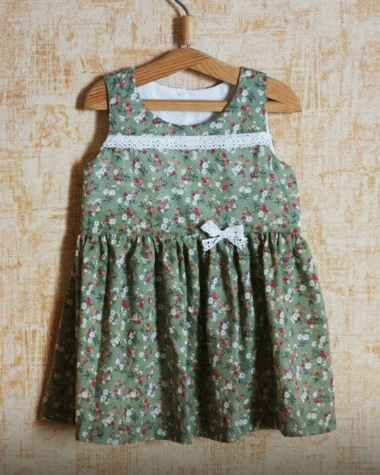 Платье из хлопка на 2-3 года, в наличии