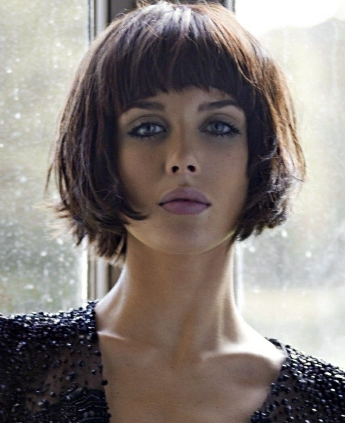 hair styles with hair 17 best ideas about bob bangs on 4632