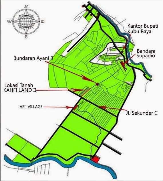 KAHFI LAND: TANAH KAVLING MURAH PONTIANAK