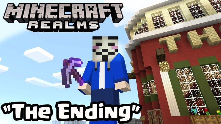 "MINECRAFT PE REALMS SMP ""LAST EPISODE ENDING"" 0.16.0 UPDATE REALMS Minecraft PE (Pocket Edition)"