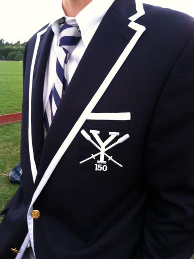 Yale Crew Rowing Blazer Boola Boola so clean and sharp