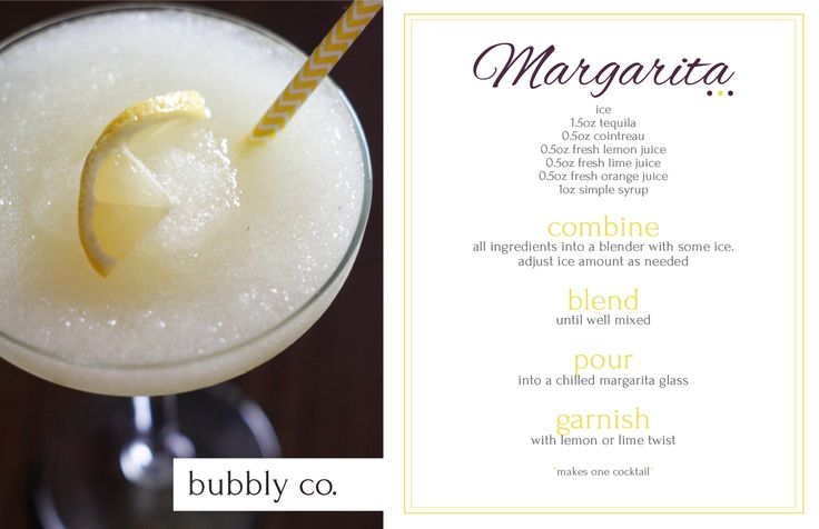 Honouring a summer favourite; the Margarita. Enjoy it on the rocks or blended. Perfect for when you're craving summer!