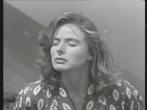 I'm rather obsessed with Ingrid Bergman - in Stromboli (Roberto Rosselini, 1950)