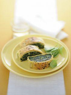 Rotolo di spinaci e tofu con nocciole e semi di lino - Tutte le ricette dalla A alla Z - Cucina Naturale - Ricette, Menu, Diete