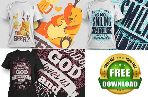 100 T Shirt Designs Mega Bundle Free Download Editable T Shirt Designs Tshirt Designs Shirt Designs T Shirt Design Vector