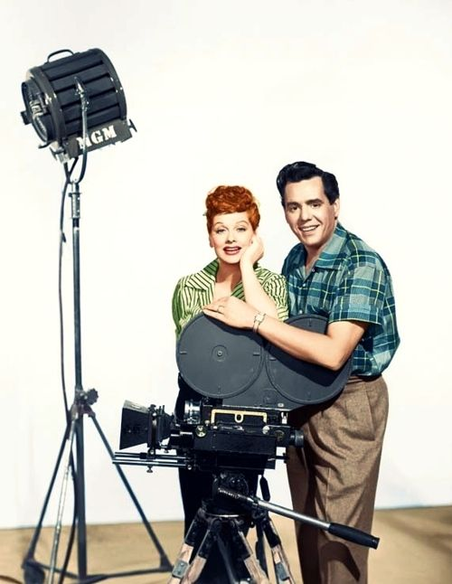 Lucille Ball And Desi Arnaz 1950s