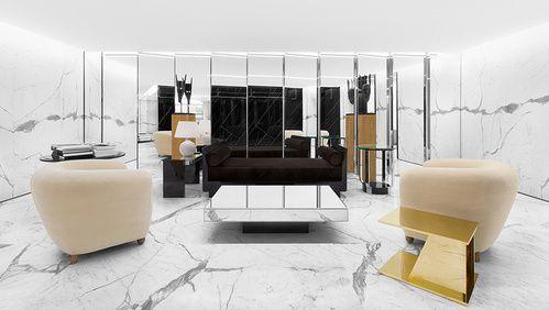 Le nouveau design de la boutique Saint Laurent 38 Faubourg 7