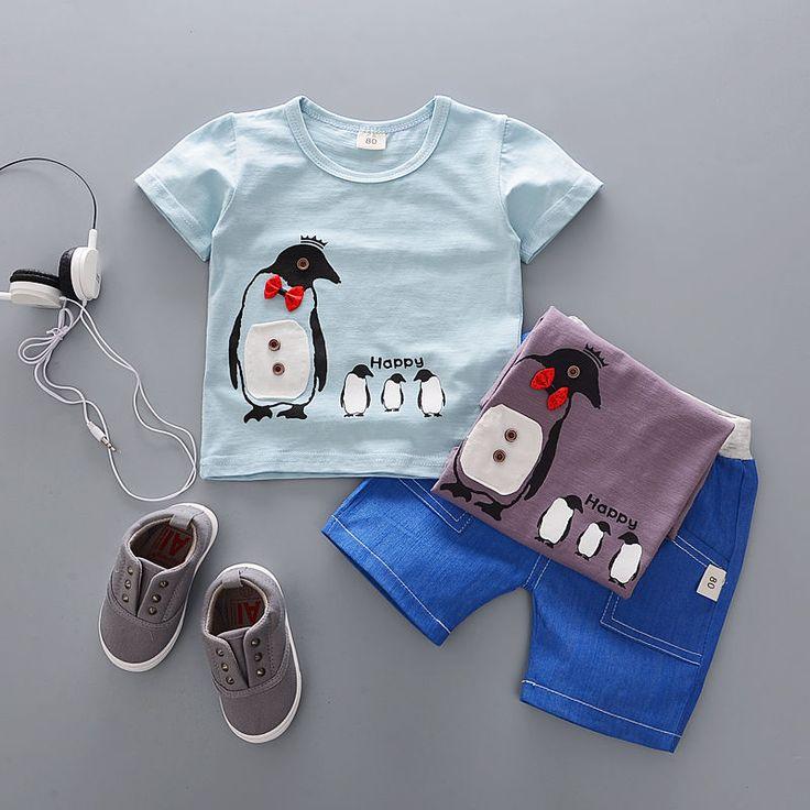 | Kısa Kollu T-shirt + Shorts yazdır: POMME Çocuk ayarlama Satın YesStyle