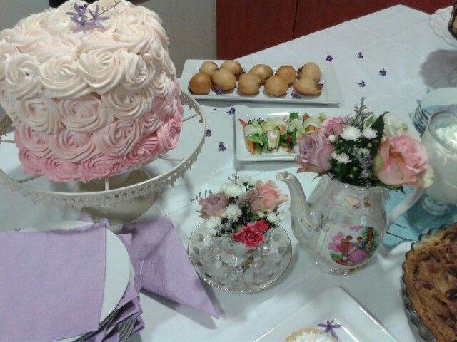 Decor by marlene. Cakes by carries cupcakes.