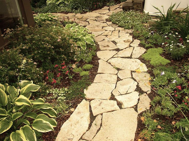 28 best Flagstone Path Ideas images on Pinterest | Flagstone ...