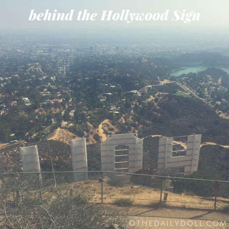 Writer Lacey Johnson Documenting Her View From Behind the Hollywood Sign | Click to Read 'It's Lonely Out Here in This Online Paradise' at TheDailyDoll.com | Social Media Only Provides a Glimpse; This Hike Is no Joke!