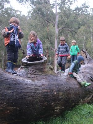Guest blogger Michelle Syme sends her kids to a very special childcare facility, The Farmhouse in Mansfield, Victoria - as seen in the June/July issue of Green Lifestyle magazine, on sale 3 May.