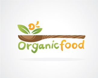 Organic Food Logo Inspiration All of these logos are for