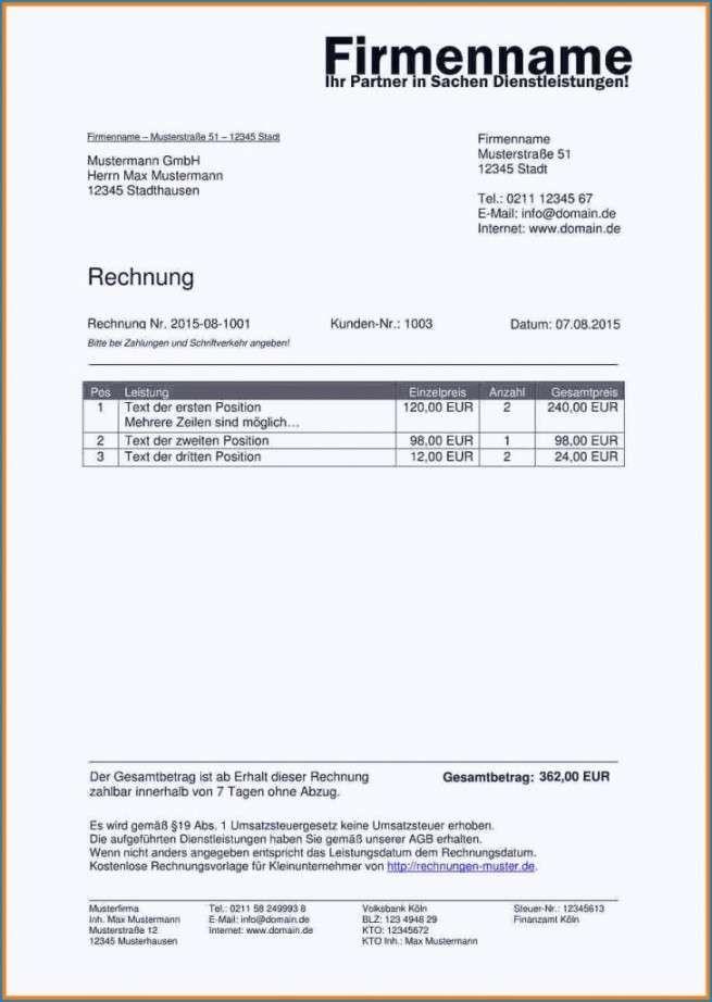Liveable Rechnung Schreiben Kleingewerbe Vorlage In 2020 Rechnungen Schreiben Rechnung Vorlage Rechnungsvorlage