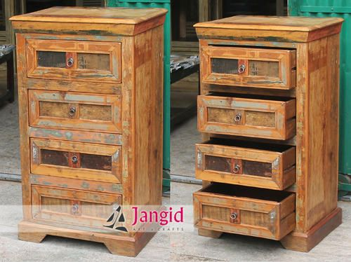 This is Indian Reclaimed Wooden Drawer Chest. We are Manufacturer and  Exporter of all type
