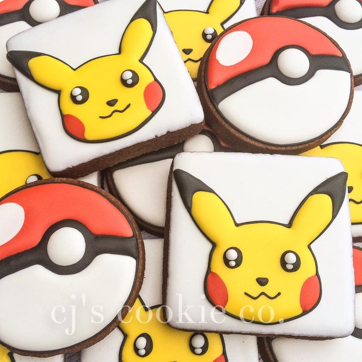 CJ's Cookie Co. - Pokémon!