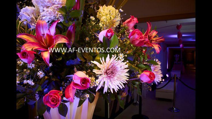 Todos nuestros montajes son con flores naturales, @afeventos