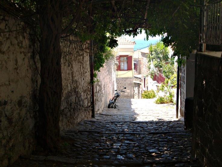 Molyvos, Lesvos island, Greece