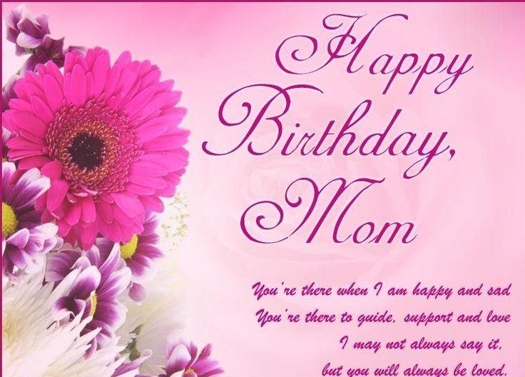 Birthday Mother Greetings Happy