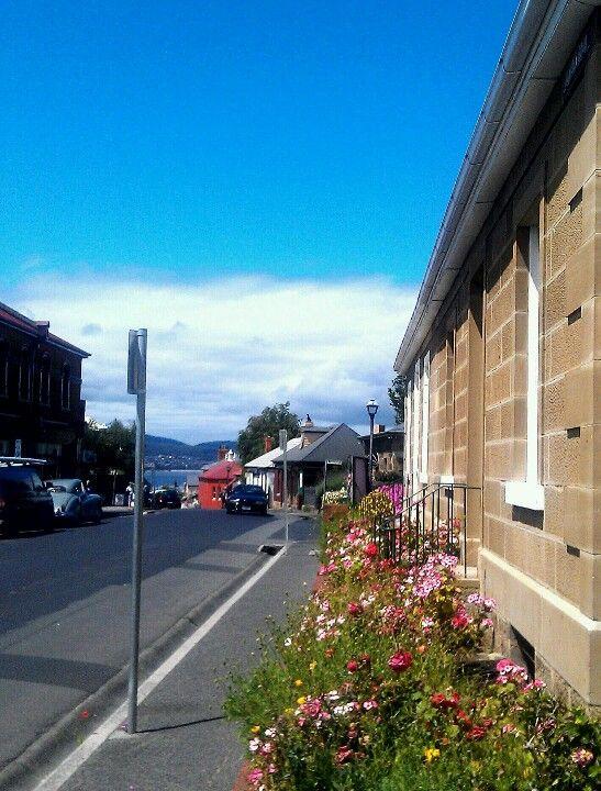 Historical Battery District, Hobart, Tasmania, Australia