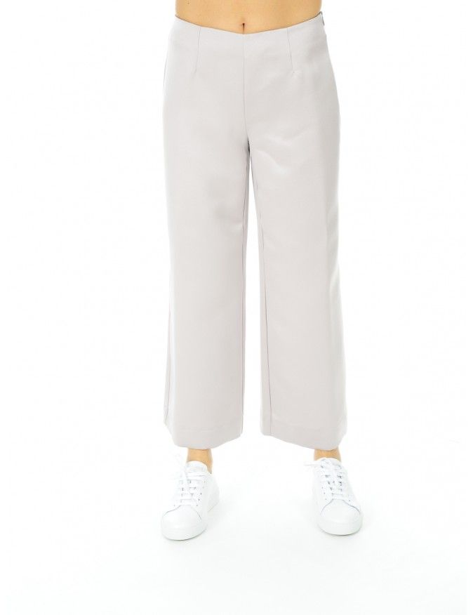 PANTALONE  DONNA 120 BIANCO GESSO #caneppele #trento #women #outfit #shop #online #italia #spring #summer #2016 #pants #white #trousers #pantalone #bianco #outfit