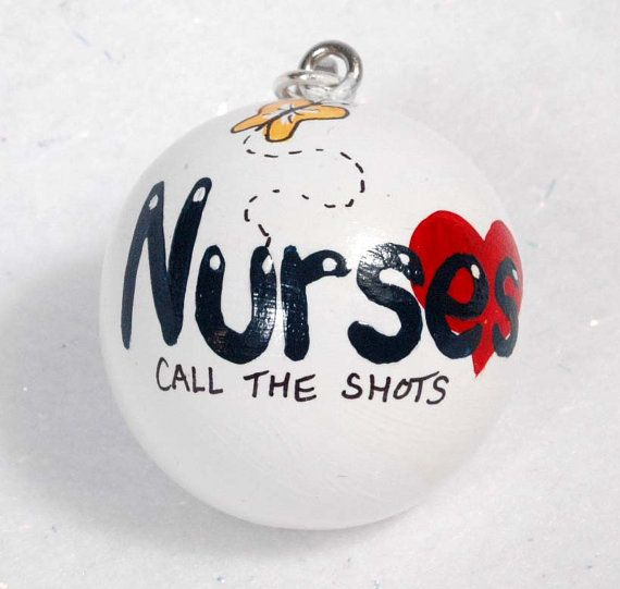 NURSE Ornament Personalized FREE by VeronicasArts on Etsy, $8.50