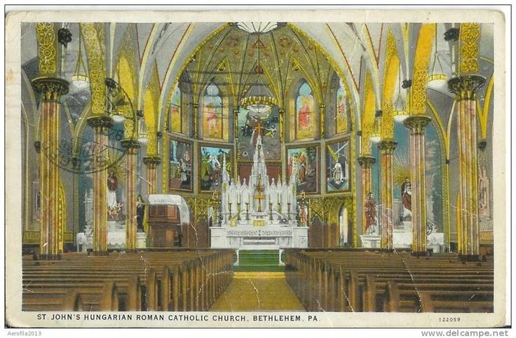 St. John Hungarian Catholic Church, Bethlehem, PA