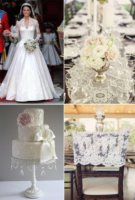 Lace Wedding Trend