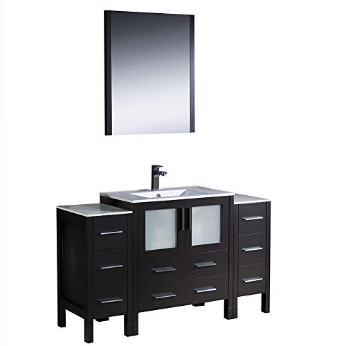 Picture Gallery For Website Fresca Torino Modern Bathroom Vanity with Side Cabinets u Integrated Sink Espresso