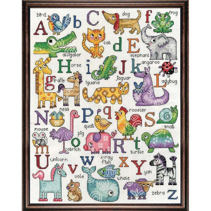 ABC Sampler By CrossStitchKitsOnly On