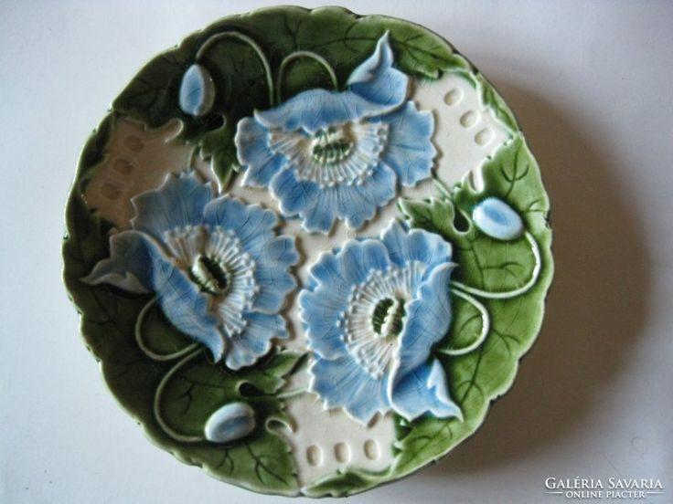Schütz Cilli - Virágmintás falitányér