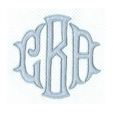 Luxury Monograms for Luxury Bed, Bath and Table Linens