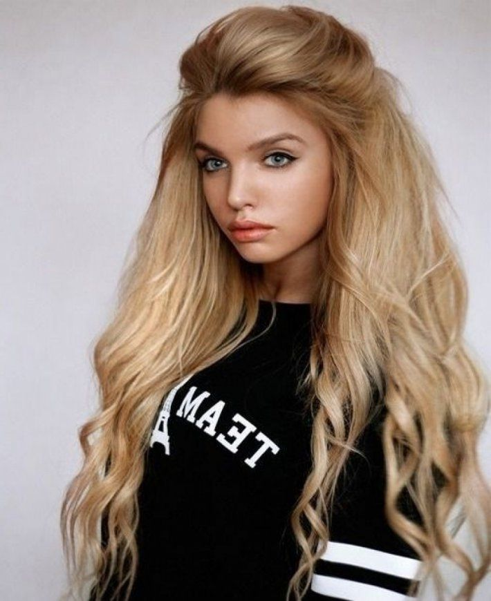 Long 80s Hairstyle 80s Hairstyle Idea 80 S Hair Style And 80s Hair With 80s Hairstyles Long Hair Hair Styles Long Hair Styles Cool Hairstyles